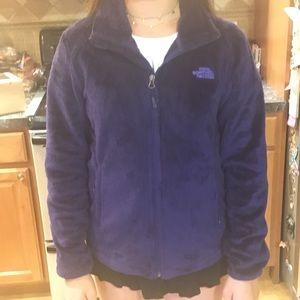 Purple Northface Osito Jacket